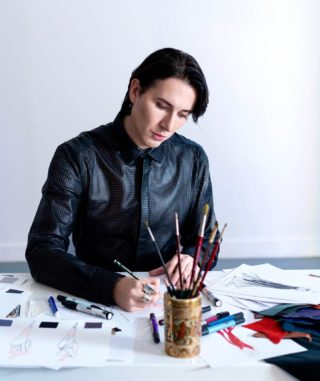 'You can't use up creativity. The more you use, the more you have.' 🖤 #art #design #creative #vision #fashion #style #designer #artist #moda #dmitrysholokhov